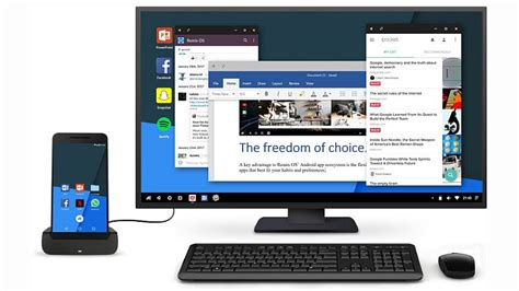 mobile desktop android remix os for mobile brings windows 10 like continuum