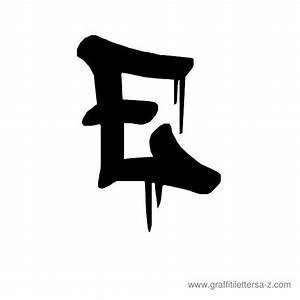 a | Drip Graffiti Uppercase Letter E | What | Pinterest ...