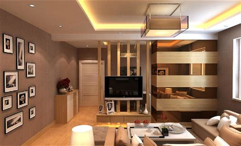 Cheap Home Interior Design Ideas - interior design wall partition living room home art decor 44590