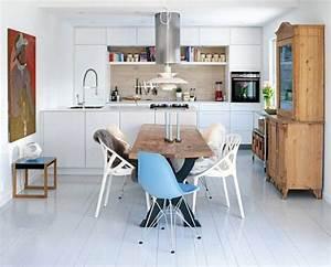 Table Cuisine Scandinave : d co scandinave 30 id es sur l 39 int rieur de style pur et simple ~ Melissatoandfro.com Idées de Décoration