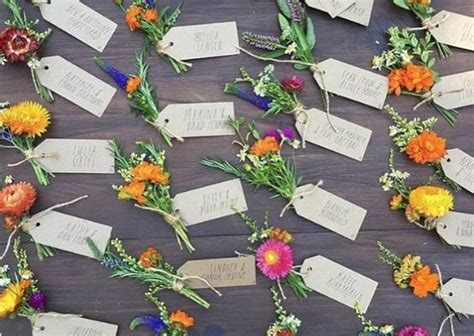 boho rustic wildflower wedding ideas   puff