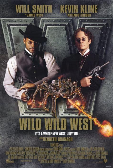 wild west movie 1999 poster smith branagh kenneth steampunk western movies posters kevin kline action hayek salma film directed american