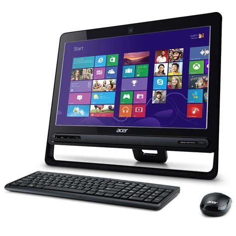 ordinateur de bureau sans tour acer aspire zc 610 dq st9ef 009 pc de bureau acer sur ldlc