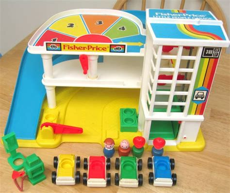 Fisher Price Action Garage 80s90s Kid!  Toys Two