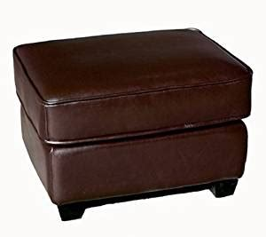 Leather Ottoman Footstool by Leather Ottoman Footstool Brown