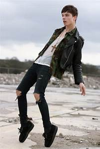 Ripped skinny jeans | Men's Look Book | Pinterest | Posts ...
