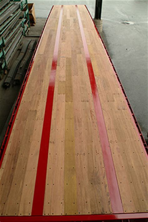 Care for your Floor, Trailer Decking, Apitong Shiplap