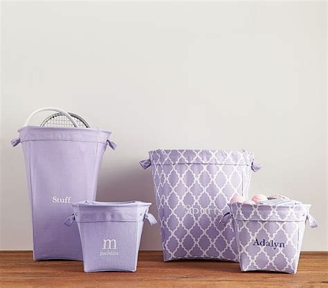 lavender cover for pottery barn lavender canvas storage pottery barn