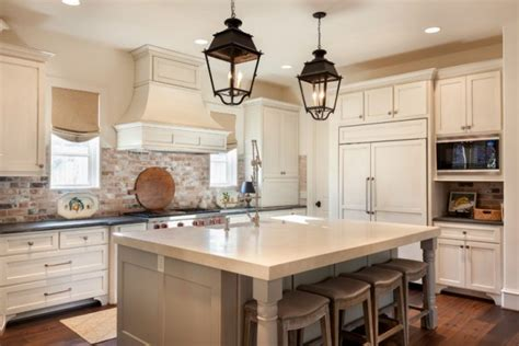 white brick kitchen backsplash brick backsplash plans for striking touch in your kitchen 1257