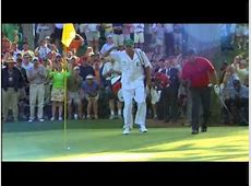 Tiger Woods • 2005 Masters • 16th Hole • ChipIn