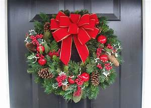 Handmade, Outdoor, Wired, Bows, For, Christmas, Decor, Christmas, Wreath, Bow, Christmas, Decoration, Bow