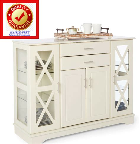 Kitchen Buffet Cabinet by Buffet Kitchen Dining Room Storage China Cabinet Colonial
