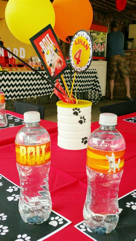 There are 2767 disney coffee decor for sale on etsy, and they cost $18.56 on average. Bolt table decor | Party decorations, Christian birthday, Birthday party themes