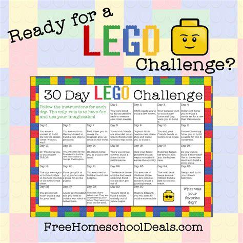 printable  day lego challenge instant