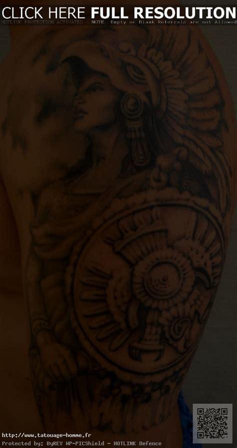 Tatouage Homme Bras Indien Natif