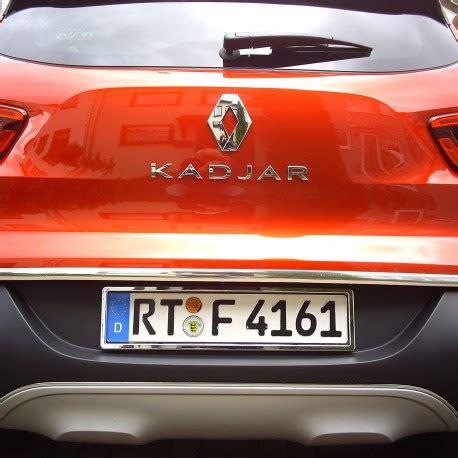 renault kadjar trunk renault kadjar chrome trim strip lid trunk rear cover