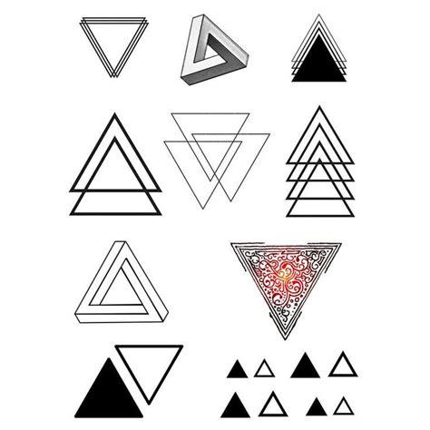 Tatouage 3 Triangles Signification