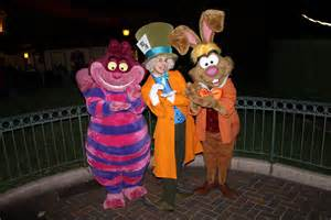 Disneyland Alice in Wonderland Characters