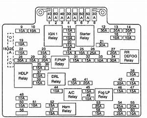 2001 Chevy Tahoe Fuse Diagram