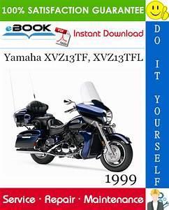 1999 Yamaha Xvz13tf  Xvz13tfl Motorcycle Service Repair