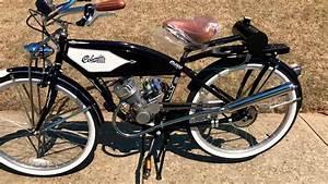 26 U201d Columbia Built 1937 Retro 80cc Motorized Bike Poo Poo