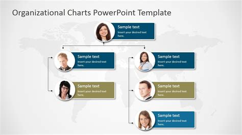 organizational charts powerpoint template diagrams