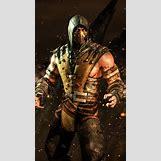 Mortal Kombat X Wallpaper Scorpion | 720 x 1280 jpeg 260kB