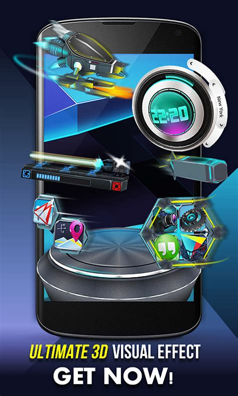 next launcher 3d appstore for android