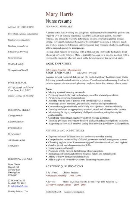 Nursing Resume Exles by Pin By Julie Cozad On Resume Cv Cover Letter Tips Advice