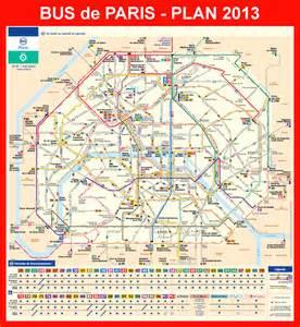 Paris Metro Map Bus