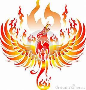 Phoenix Art Stock Illustration - Image: 54663541
