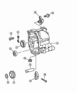 Dodge Nitro Plug  Oil Drain  Case  Related  Rear