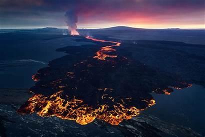 Lava Flow Volcanoes Photographing Volcano Tips Holuhraun
