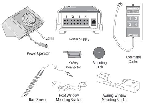 quadomated anderson casement window  vdc electric motor automation