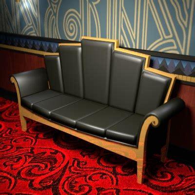 deco furniture bar 3d model