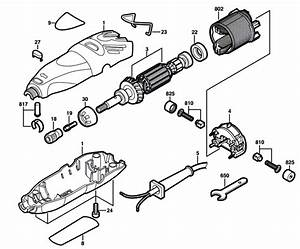 Dremel 300  F013030000  Parts List