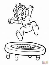 Trampoline Jumping Coloring Kid Jump Drawing Clipart Printable Supercoloring Gymnastics Winter Getdrawings Super Clipground Cif Dot Paper Popular Tailor Advisor sketch template