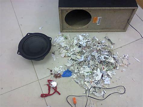 prevent rat nests  subwoofer speaker enclosures techsawa