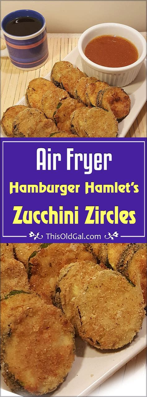fryer zucchini air hamburger hamlet fried recipes vegetables oven thisoldgal power airfryer sides healthy fries cooking zuchinni frying alternative apricot