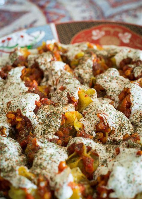 afghan cuisine mantu afghan beef dumplings recipe so incredibly
