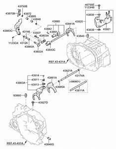 2007 Hyundai Tucson Gear Shift Control