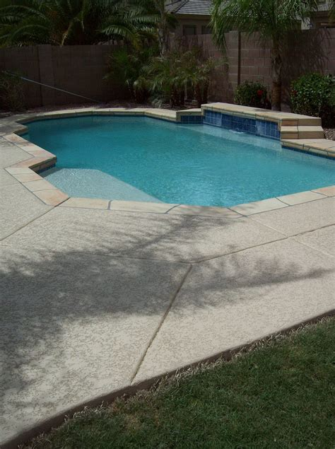 Diy Concrete Pool Deck Resurfacing Options by Acrylic Pool Deck Resurfacing Cost Home Design Ideas