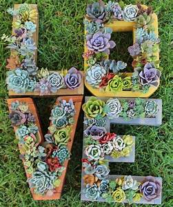 succulent letter planter a z monogram vertical garden a With monogram letter planter