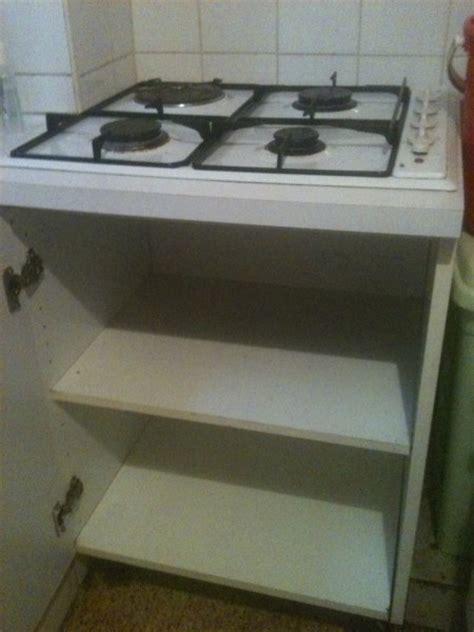meuble cuisine pour plaque de cuisson meuble pour plaque electrique cuisine en image