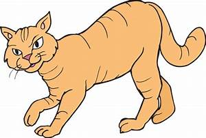 Stalking Cat Clip Art at Clker.com - vector clip art ...