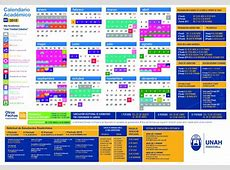 Información Importante Calendario Académico 2018 Blogs UNAH
