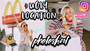 UGLY LOCATION PHOTOSHOOT CHALLENGE! | Aspyn Ovard - YouTube