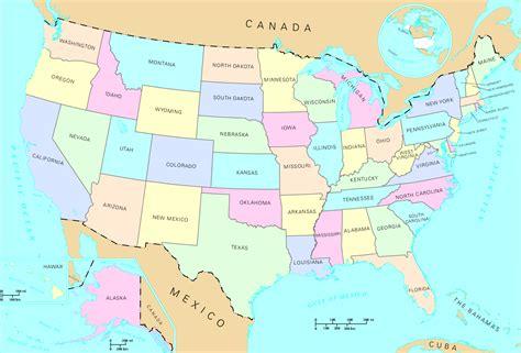 map of united states free large images