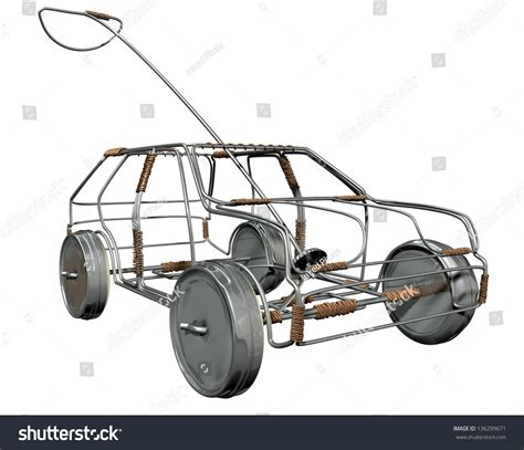 traditional south african handmade wire toy car