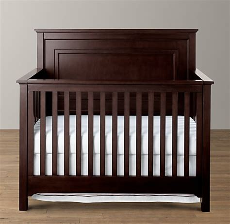 restoration hardware crib marlowe conversion crib
